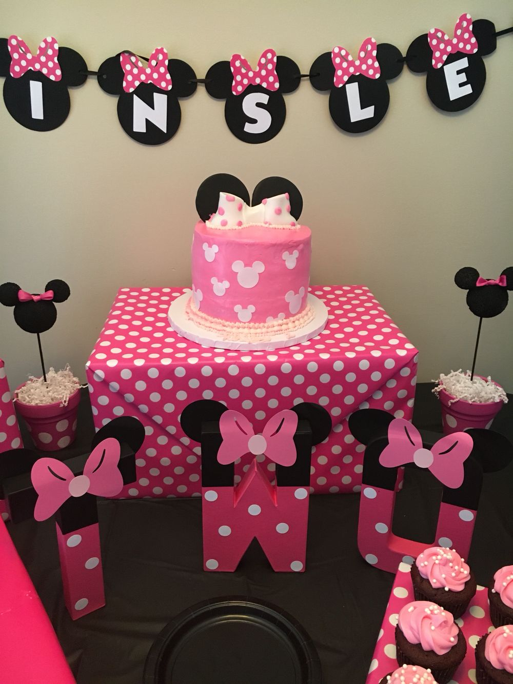 Minnie Mouse Second Birthday Party 2nd Parties Mini