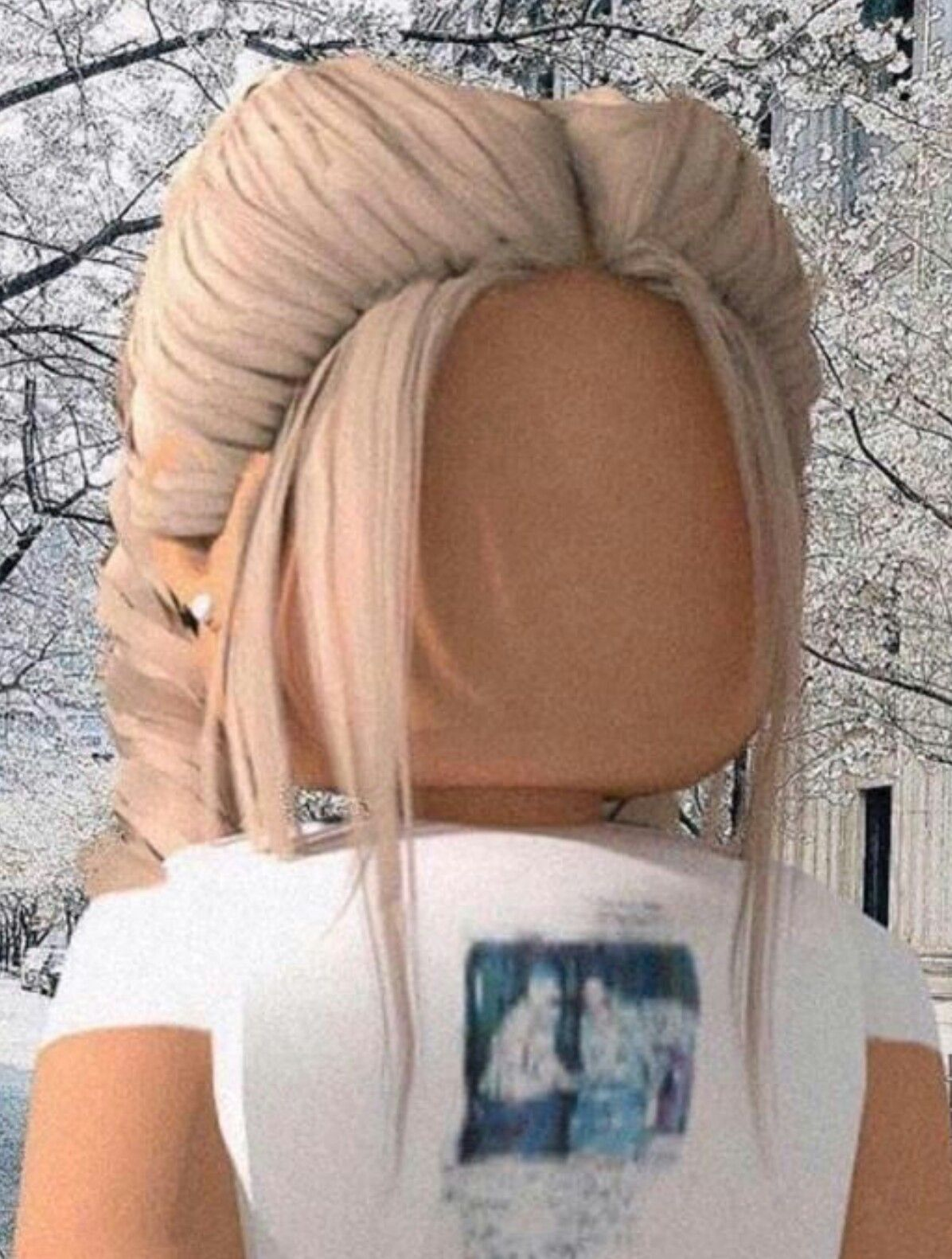 Wintery Blonde In 2020 Cute Tumblr Wallpaper Roblox Animation Cute Profile Pictures