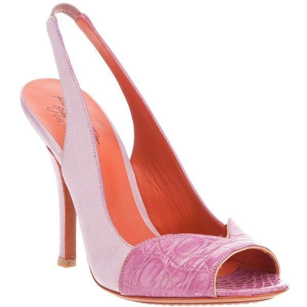 SANTONI Slingback Sandal