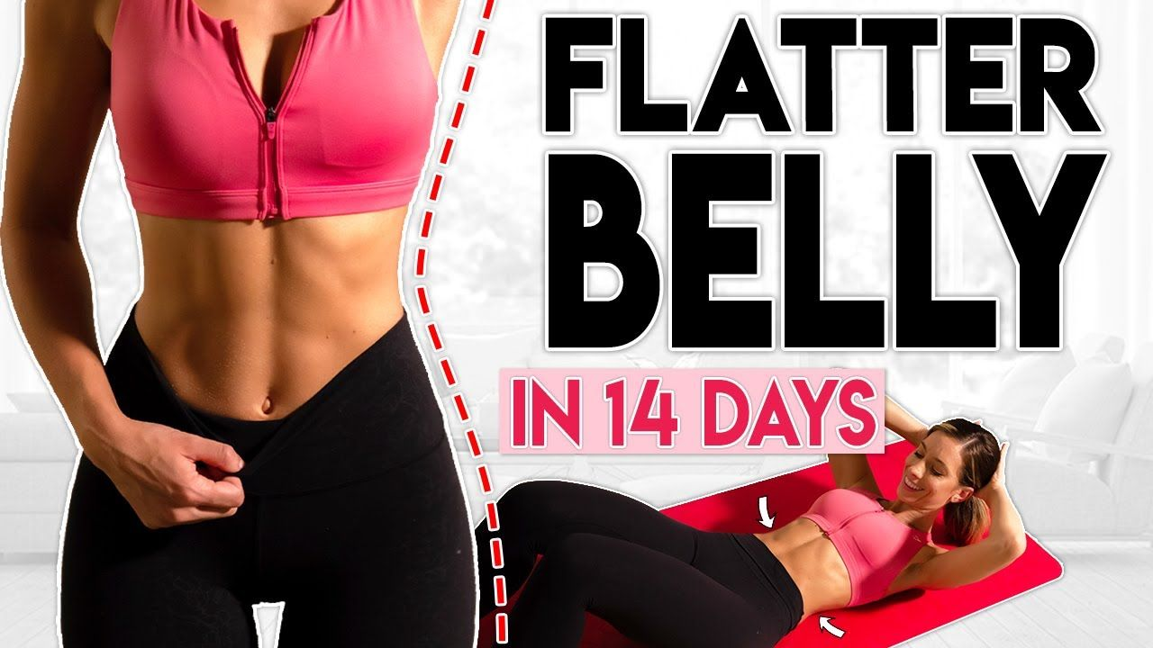 Flatter belly in 14 days 7 minute home workout youtube