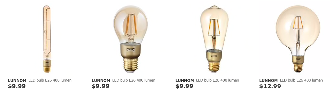 These Are The Best Prices I Ve Found For Led Edison Bulbs Bulb