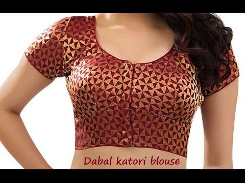 85e68922ba8fa how to cutting dobol katori blouse tutorial .dobol katori blouse cutting  english subtitles - YouTube
