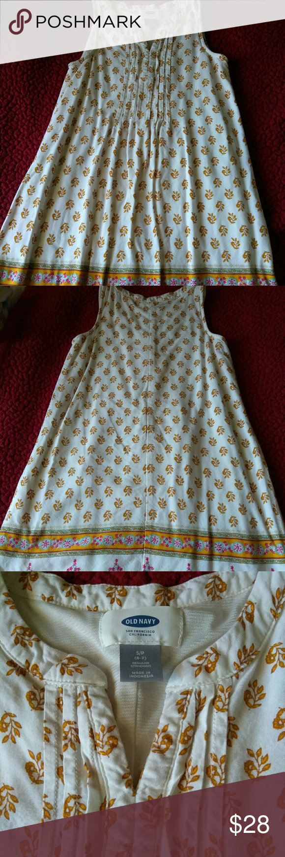Old Navy dress girl Only once used.. perfect condition Old Navy Dresses Casual