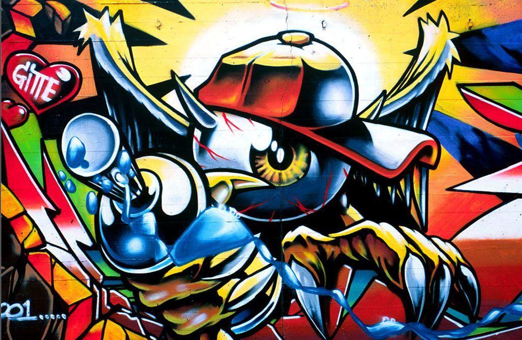 Die Besten Graffiti Bilder, Graffiti Schrift