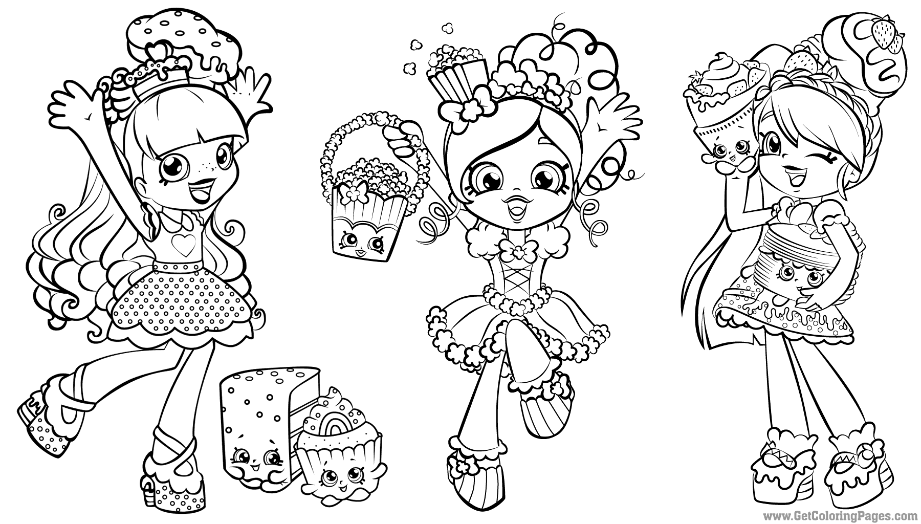 Pin by Tammi Sheridan on Color Me Shopkin coloring pages