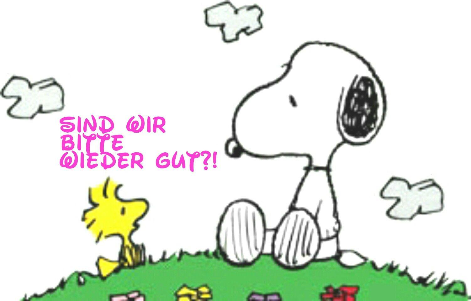 Sind Wir Bitte Wieder Gut Snoopy Bilder Guten Morgen Gruss Guten Morgen Lustig