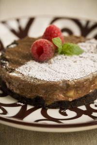 Double Chocolate Ooey Gooey Butter Cake Recipe by Paula ...