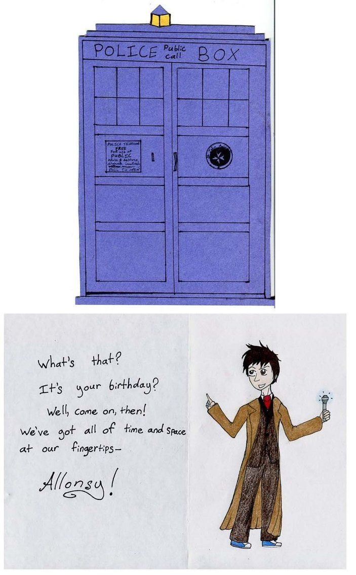 Doctor Who birthday card by Guinnygirl on deviantART – Doctor Who Birthday Card