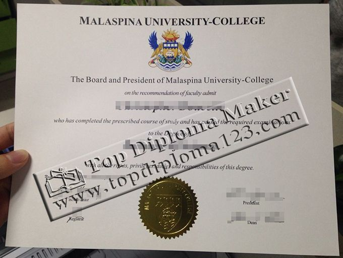 Malaspina university-college diploma, Malaspina university-college - copy business license certificate template