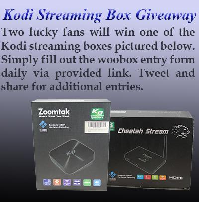 Kodi Streaming Box Giveaway! Ends 1/16/2017 {US}{CA} via