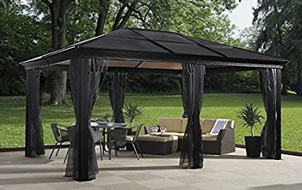 I Want This Extra Large Gazebo Loving The Hard Top Gazebos And