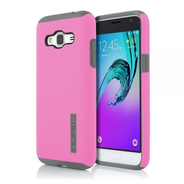 Incipio Samsung Galaxy J3 Dual PRO Case - Pink / Grey