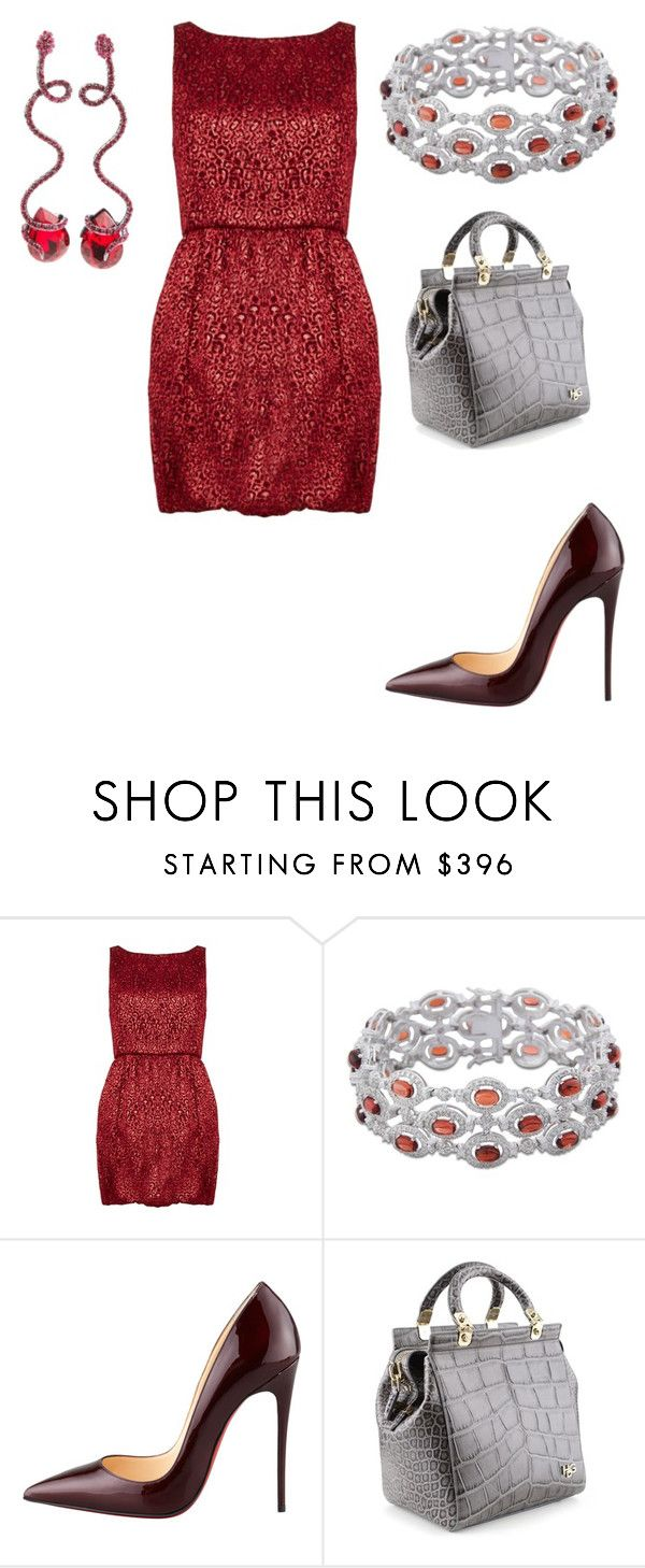 """Untitled #25539"" by edasn12 ❤ liked on Polyvore featuring Alice + Olivia, Christian Louboutin, Givenchy and Luxury Fashion"