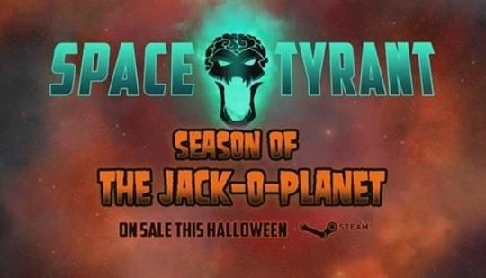 the fast paced strategy game space tyrant gets spooky with its
