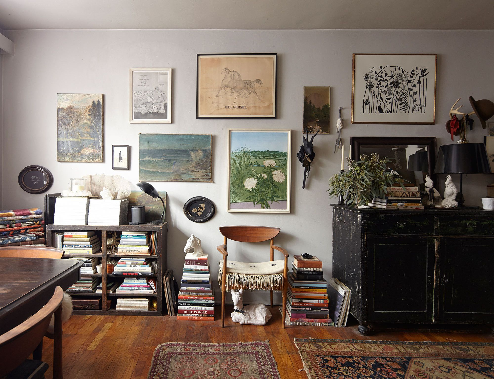 In New Yorku0027s East Village, Two Design Devotees Make A Lasting Home In 370  Square