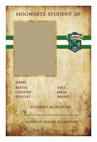 """""""Hogwarts ID's"""" by spencerjane on Polyvore featuring harry potter, hogwarts, slytherin, backgrounds and other"""