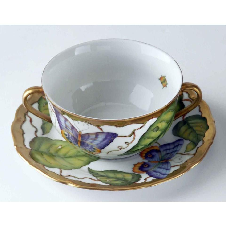 Anna Weatherley Ivy Garland Cream Soup Cup Only