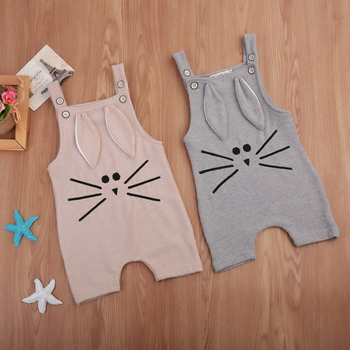 Bunny Whiskers Romper  Buy it today from www.babypetite.com  We sell cute and adorable baby clothing, shoes, socks, bibs, tableware, blankets, clothing sets, dresses, rompers, outfits and many more baby essentials.   Shop our products on Baby Petite today 👶  FREE Worldwide Shipping to over 230+ countries ✈️  www.babypetite.com  #twins #baby #pampers #pregnant #babyclothing #babyboy #mothers #babyclothes #newbornbaby #babytwins
