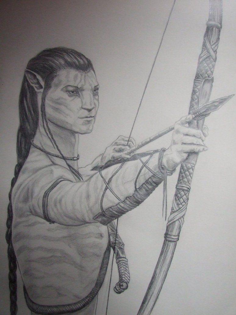 Jakes Archery Lesson By Isisneferet On Deviantart Avatar Kleurplaten