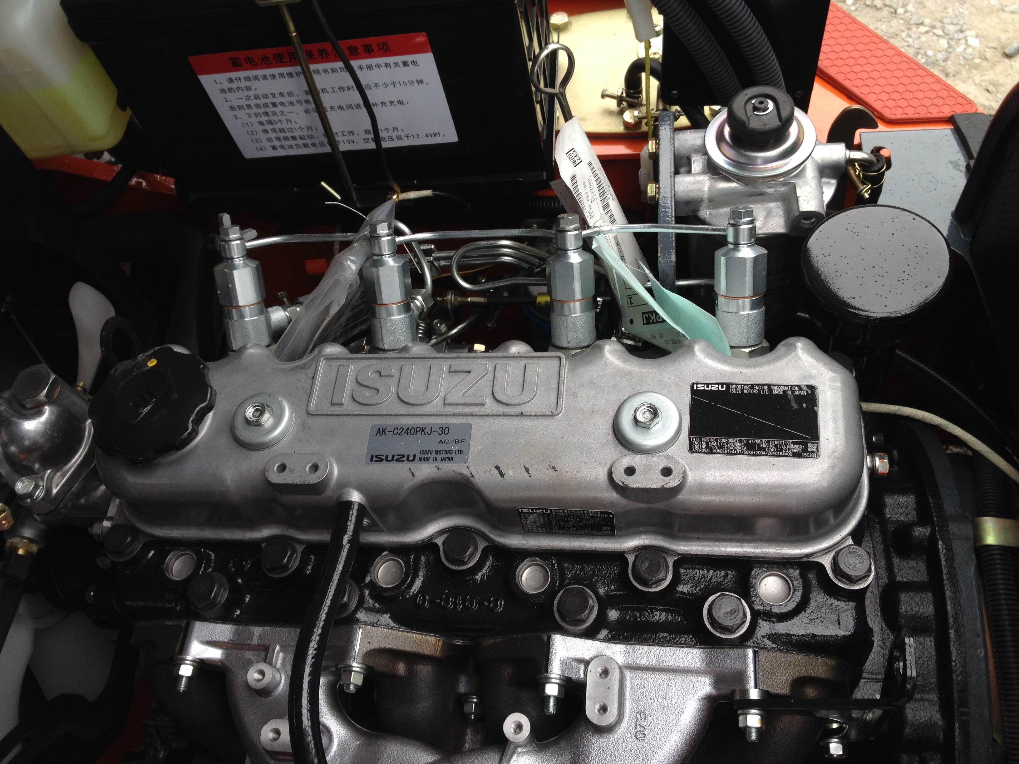 Động Cơ Isuzu C240 Coach Swagger Bag Diesel Engine Engineering