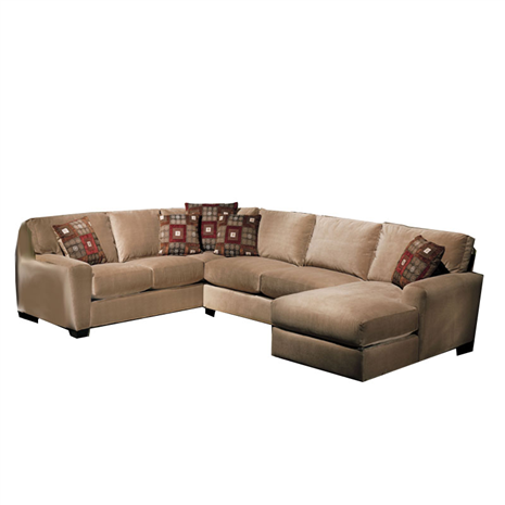 Charmant Benson 3 Piece Custom Sectional   Furniture Store, St. Louis, Missouri.  Phillips