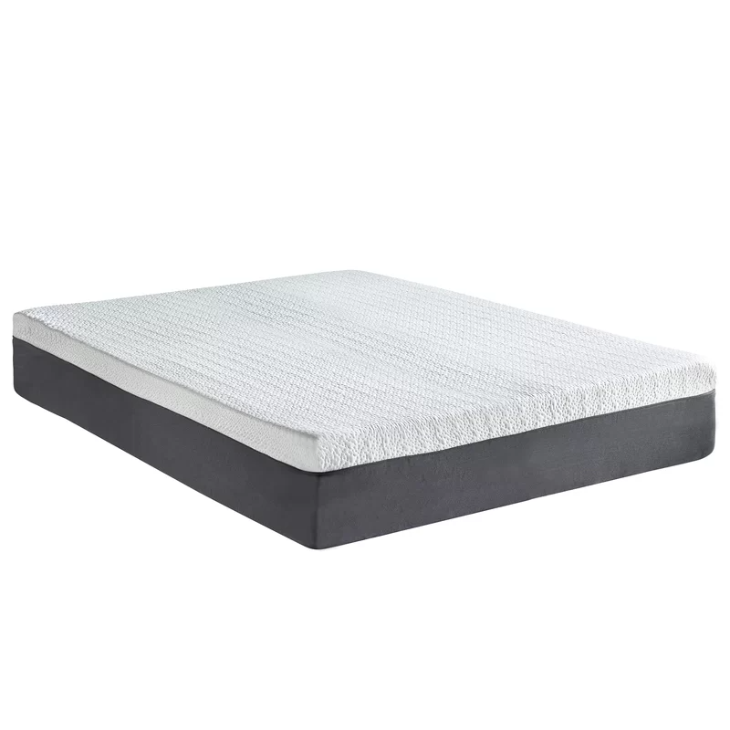 Cool Gel 12 Medium Gel Memory Foam Mattress In 2020 Gel Memory Foam Mattress Queen Memory Foam Mattress Memory Foam Mattress