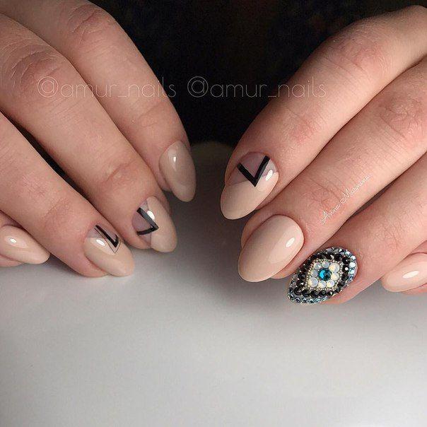 Маникюр | Видео уроки | Art Simple Nail | Nail Art | Pinterest ...