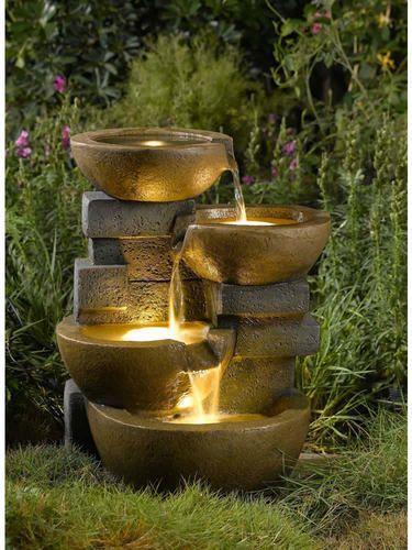 Garden And Patio Outdoor Water Fountains