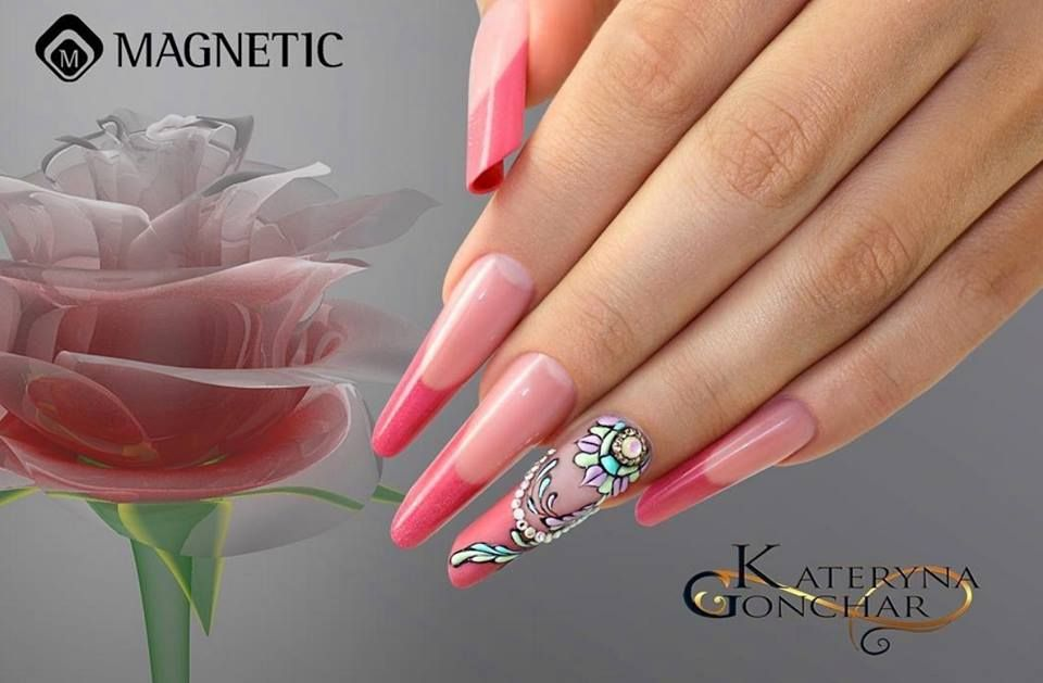 Gel Design by Kateryna Gonchar! #nailart #nailstyle #nails #nailsoftheday