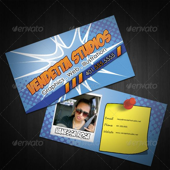 Realistic graphic download d httpjquerypinterest kablam business cards edgy business cards for the butt kicking graphic designer in all of us links to free fonts included reheart Images
