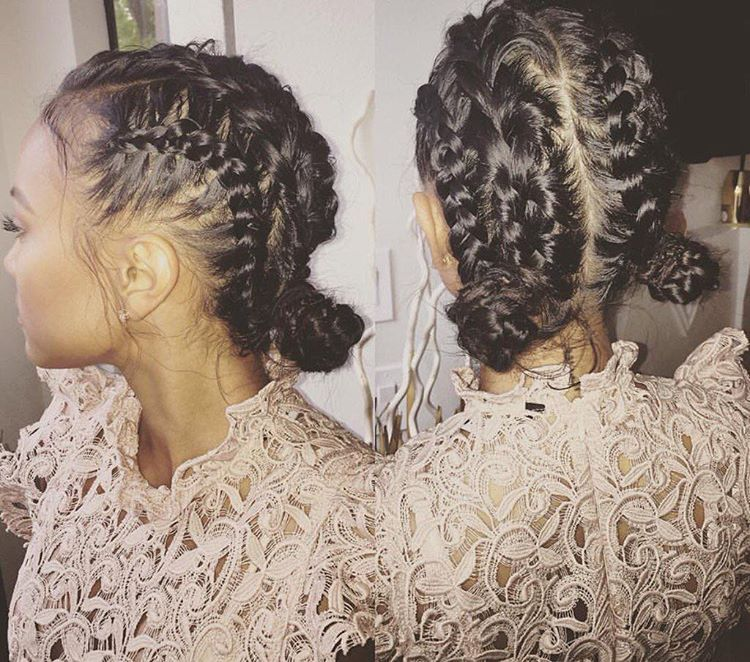 Instagram post by @karrueche • Apr 7, 2016 at 5:46pm UTC #messybraids