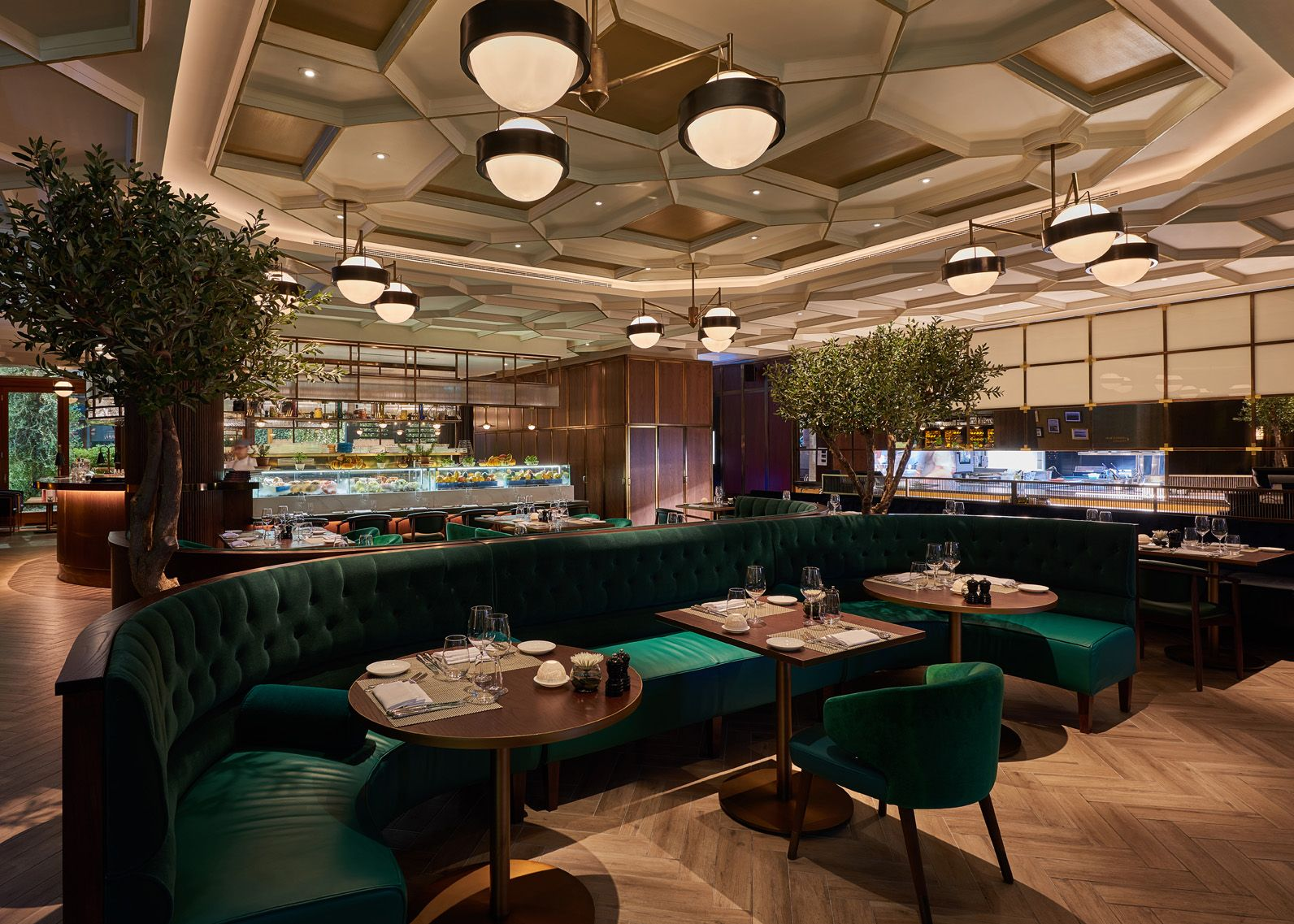 galvin dubai dubai restaurant interior design branding by rh pinterest com