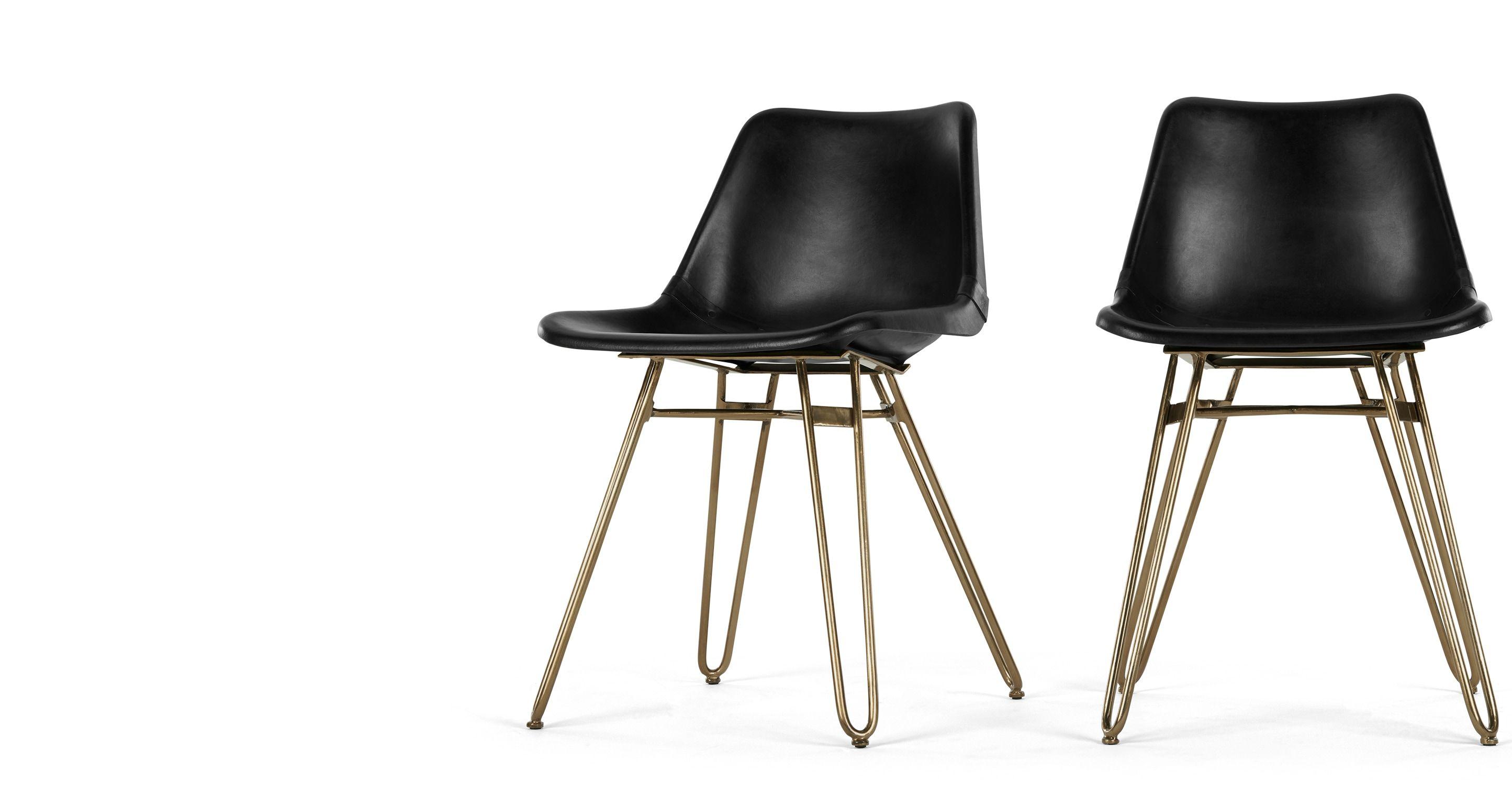 Elegant Esszimmerstühle Leder Ideen Von #awesome --> Esszimmerstühle - 2 X Kendal