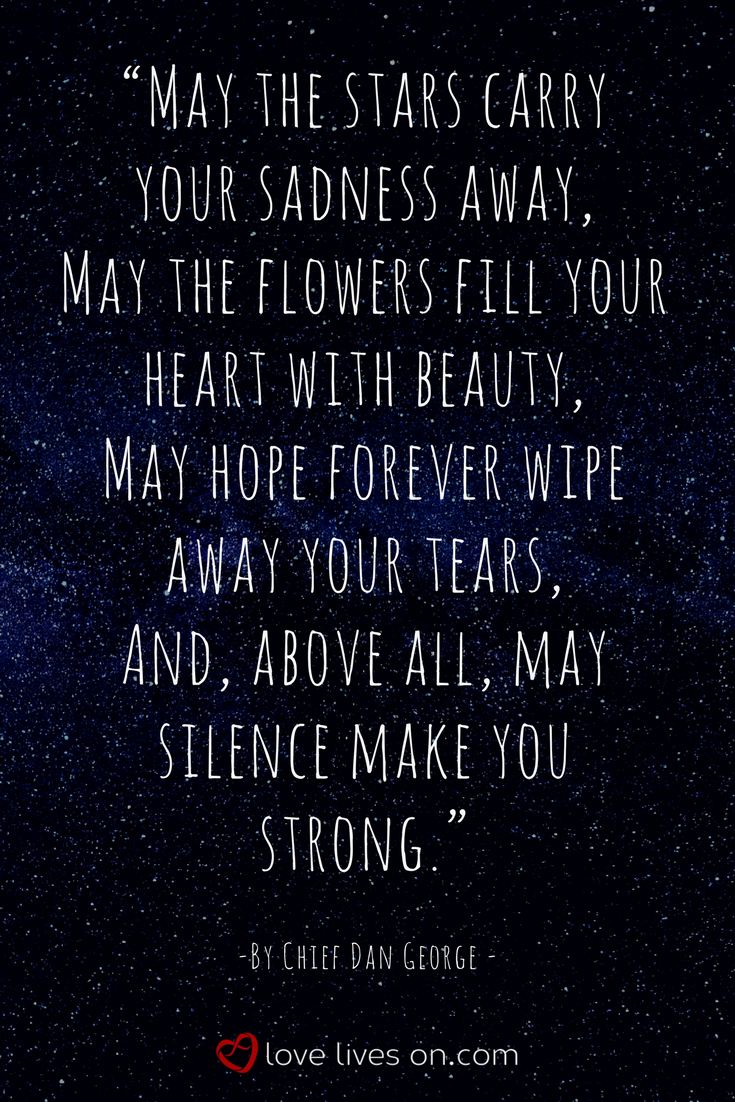 21 remembering dad quotes pinterest remembering dad quotes a beautiful funeral quote for dad by chief dan george that reminds us that although our izmirmasajfo