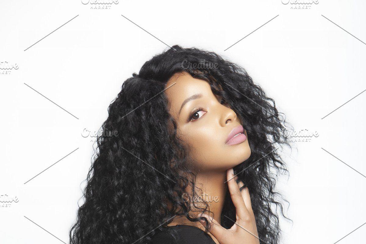 Hair Bundle Mockup Business Hairstyles Wigs Hair Extensions Hair Bundles