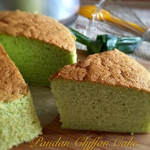 My Mind Patch Pandan Chiffon Cake 香兰威风蛋糕 My Oven Cakes