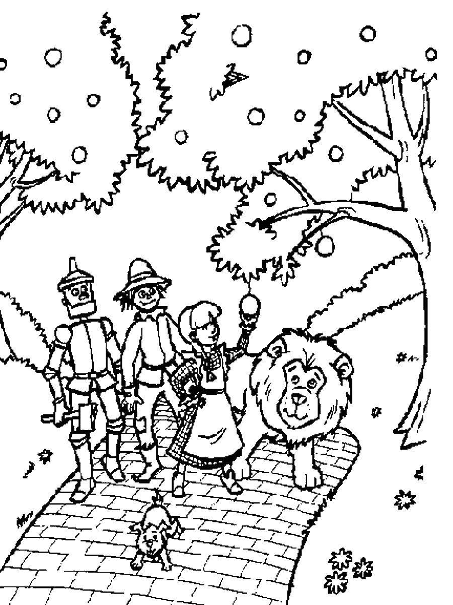 Coloring Pages Wizard Of Oz Wizard Of Oz Coloring Pages Wizard Of Oz Color Coloring Pages Coloring Pages Inspirational