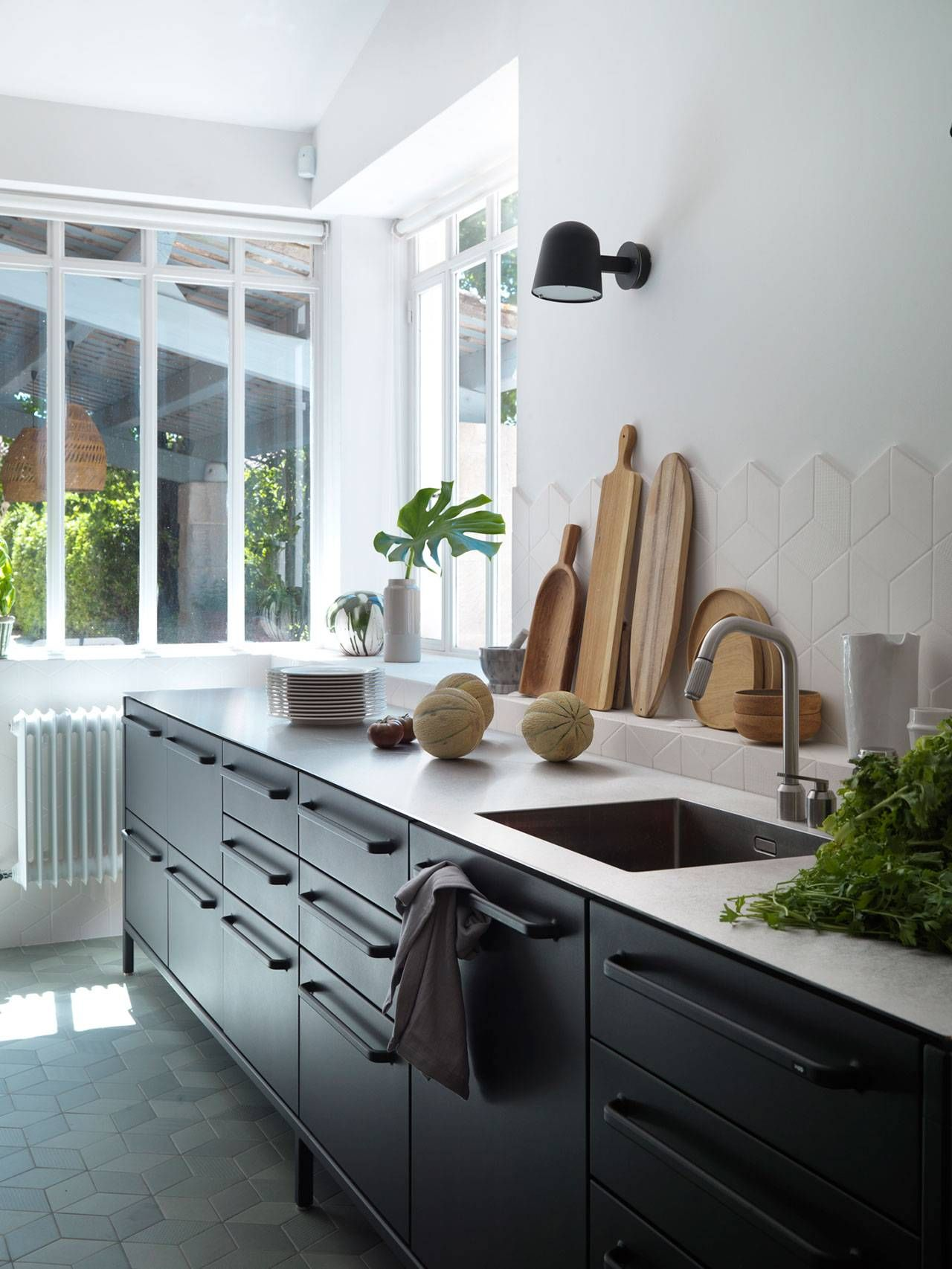 Vipp Kitchen In Provence Stainless Steel Kitchen Countertops Kitchen Interior Replacing Kitchen Countertops