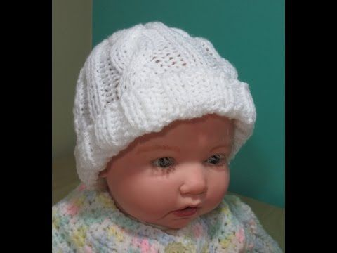 Gorros con trenzas gorditas y borde cangrejo puff tejidos a crochet...  todas las tallas! - YouTube cda942e1cd4