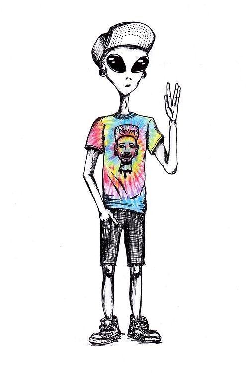 alien dude