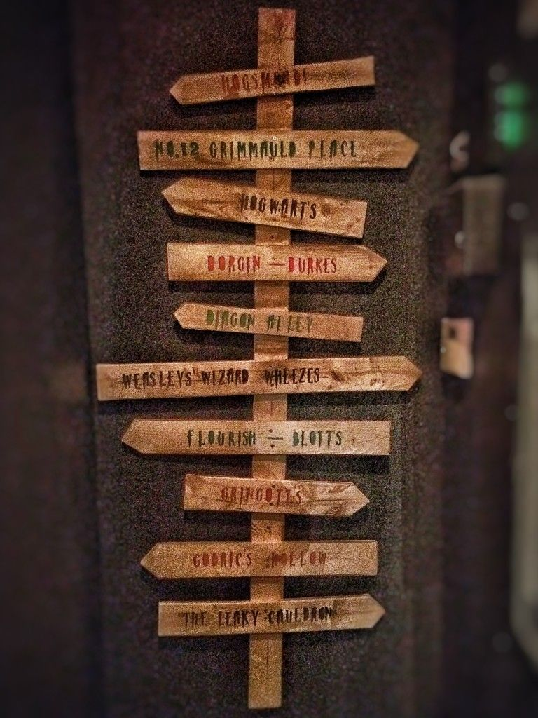 Magical World of Harry Potter Sign Post | HP | Pinterest | Harry ...