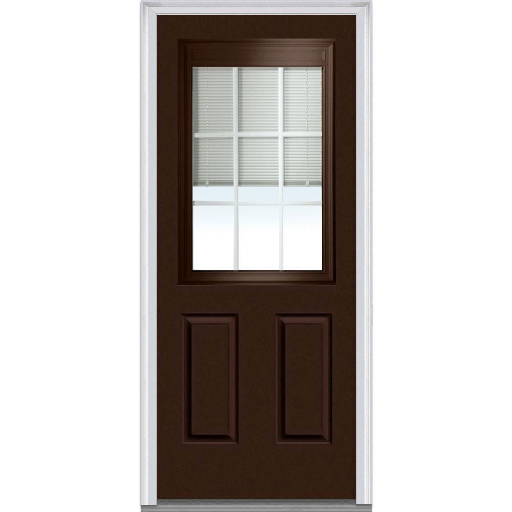Mmi door in x in internal blinds and grilles lefthand