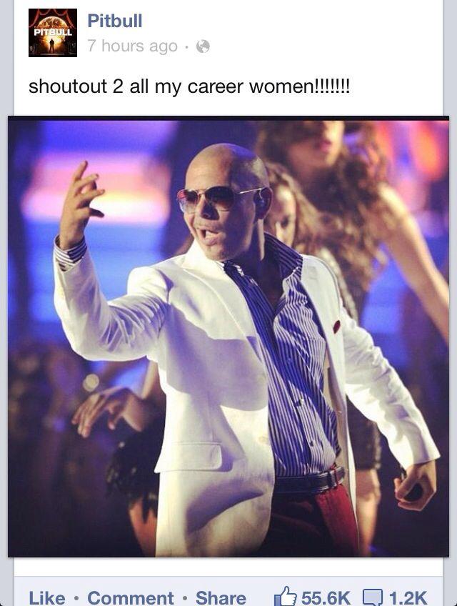 Career women ;) New album song, Pitbull music, Album songs