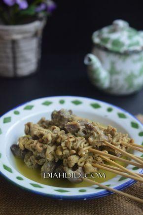 Ungkep Sate Usus & Ampela Bumbu Kuning   Resep masakan ...