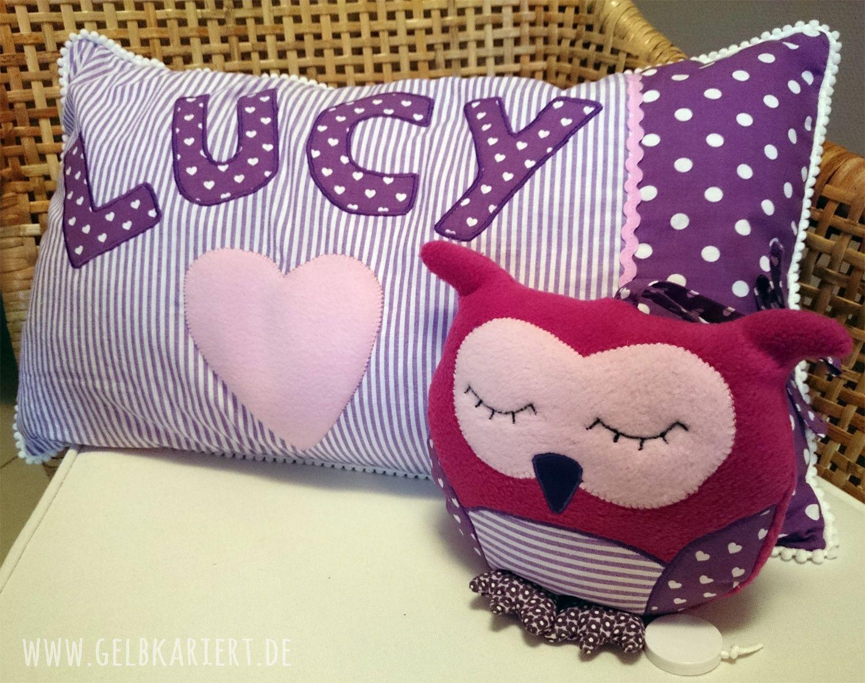 spieluhr und kissenbezug zur geburt schwangerschaft pinterest n hen spieluhr und baby. Black Bedroom Furniture Sets. Home Design Ideas