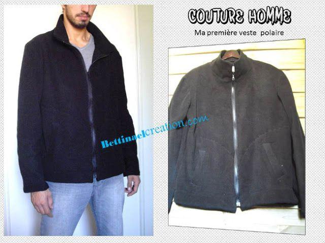 Pour Polaire Couture Veste HommePinterest Patron Sqj4L5Ac3R