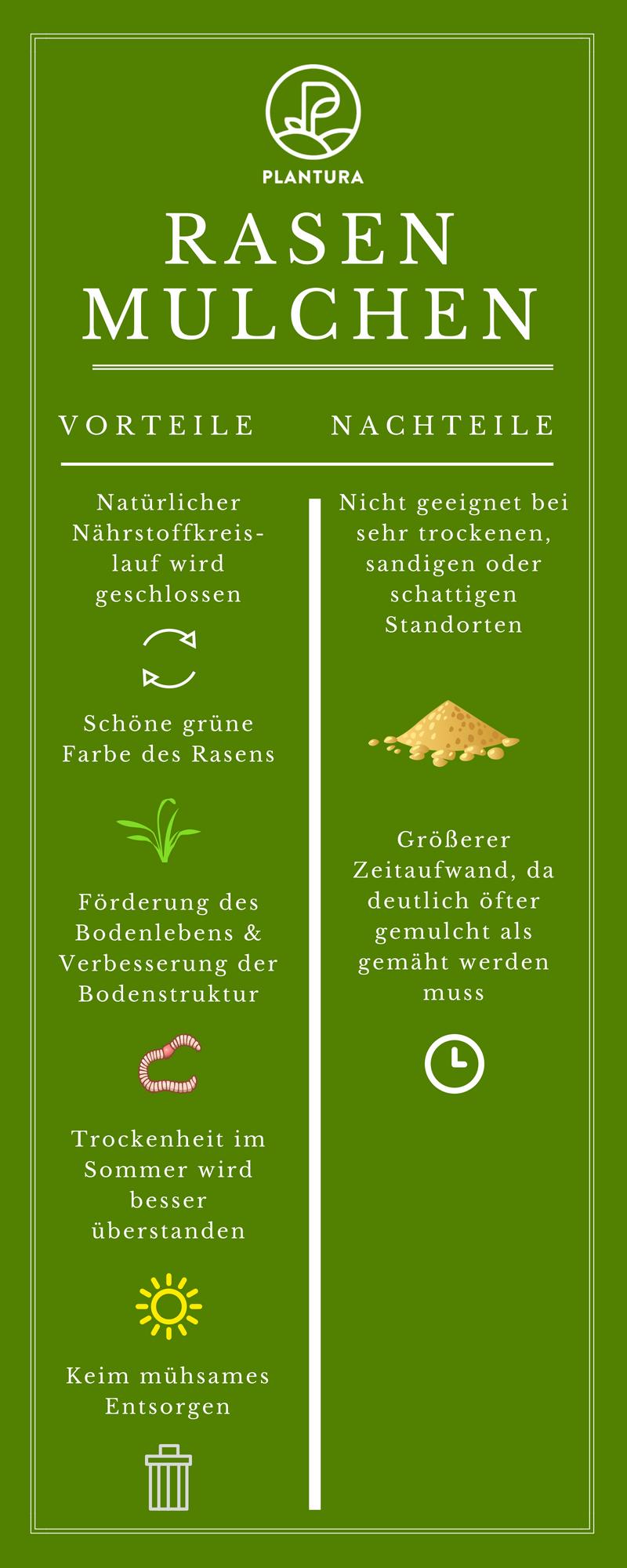 Rasen Mulchen Vorgehen Profi Anleitung Garten Ideen Tipps