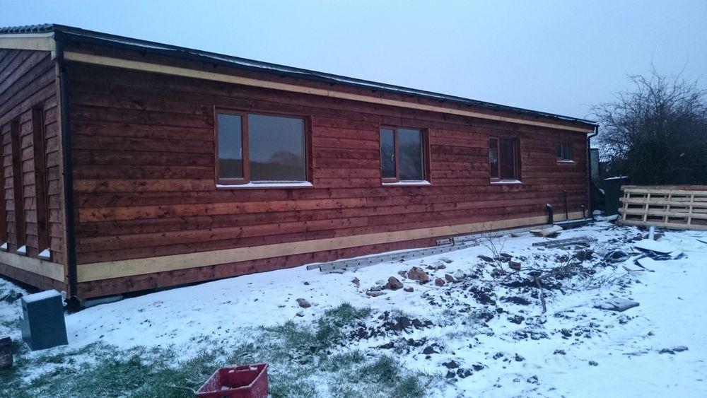 60ft X 30ft 3 Bed Log Cabin Lodge Timber Frame Holiday Park Home Static Caravan