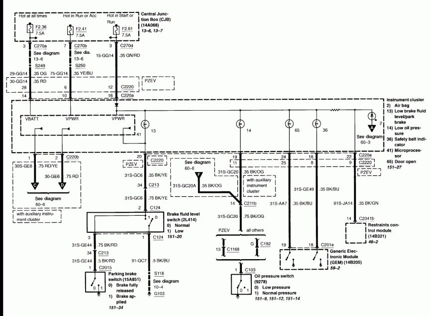 Wiring Diagram 59 Ford from i.pinimg.com