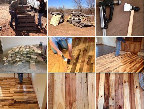 Diy pallet flooring reutilizar pinterest pallet floors diy pallet flooring solutioingenieria Gallery